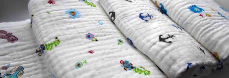 Муслиновые одеяла