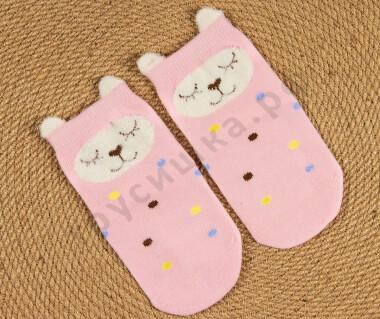Носочки объемные Розовая кошечка