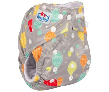 Babyland (микрофлис) Воздушный шар на сером