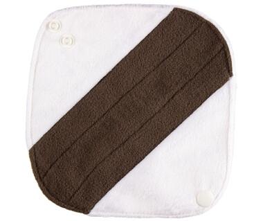Прокладки ежедневные Белые (плюш) бамбук уголь