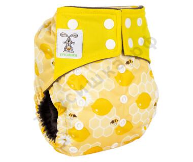 Трусишка Премиум Лимоны/Желтый + 1 вкладыш