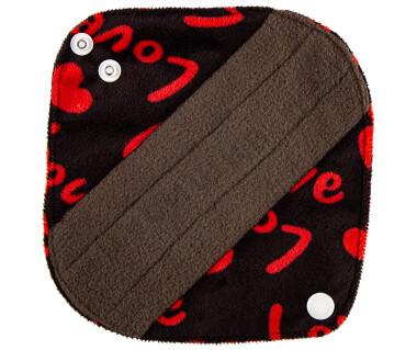Прокладки ежедневные Love (плюш) бамбук уголь