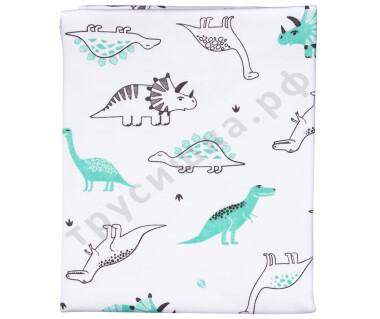 Трикотажная пеленка Динозавры