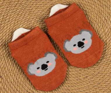 Укороченные носочки Коала