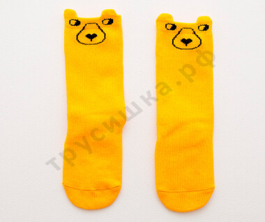 Гольфы Желтый медведь