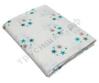 Муслиновая пеленка Звезды (хлопок)