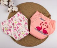 Трусики Joyo Roy двойные Розовый фламинго (комплект 2 шт)