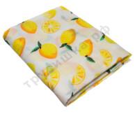 Муслиновая пеленка Желтые лимоны (хлопок)