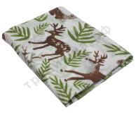 Муслиновая пеленка Олень в лесу (хлопок)