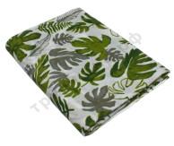 Муслиновая пеленка Зеленые листья (хлопок)