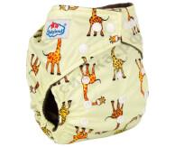 Babyland (бамбук уголь) Жирафы на желтом