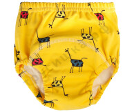 Трусики Jia Цветные жирафы на желтом