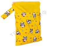 Непромокаемая сумочка Панды/Желтый