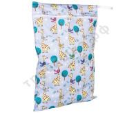 Непромокаемая сумочка Жираф в шарфе (классика)