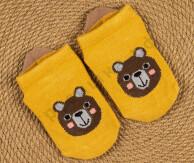 Укороченные носочки Медвежонок