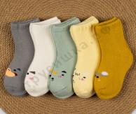 Носочки махровые Набор 1 (комплект 5 шт)