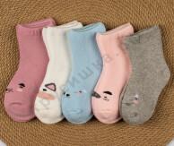 Носочки махровые Набор 3 (комплект 5 шт)