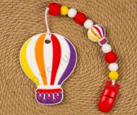 Силиконовый грызунок-прорезыватель Воздушный шар